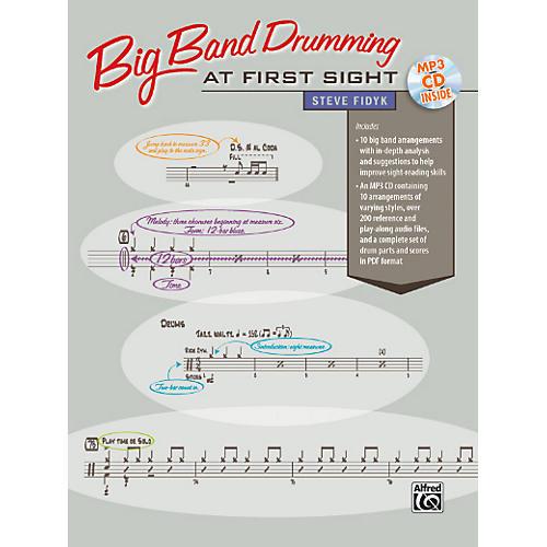 Alfred Big Band Drumming at First Sight Book & CD