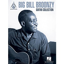 Hal Leonard Big Bill Broonzy Guitar Collection Guitar Tab Songbook