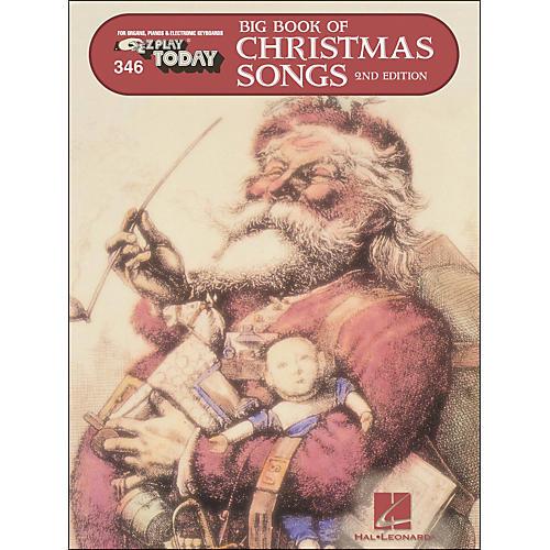 Hal Leonard Big Book Of Christmas Songs E-Z Play 346