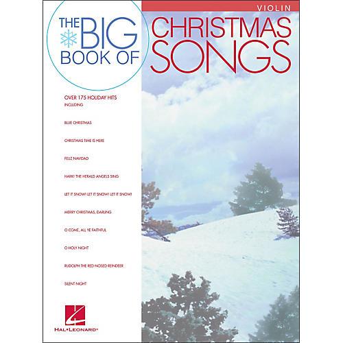 Hal Leonard Big Book Of Christmas Songs for Violin