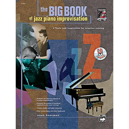Alfred Big Book of Jazz Piano Improvisation Book & CD
