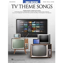 Hal Leonard Big Book of TV Theme Songs - 2nd Edition Piano/Vocal/Guitar Songbook