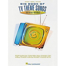 Hal Leonard Big Book of TV Theme Songs Piano, Vocal, Guitar Songbook