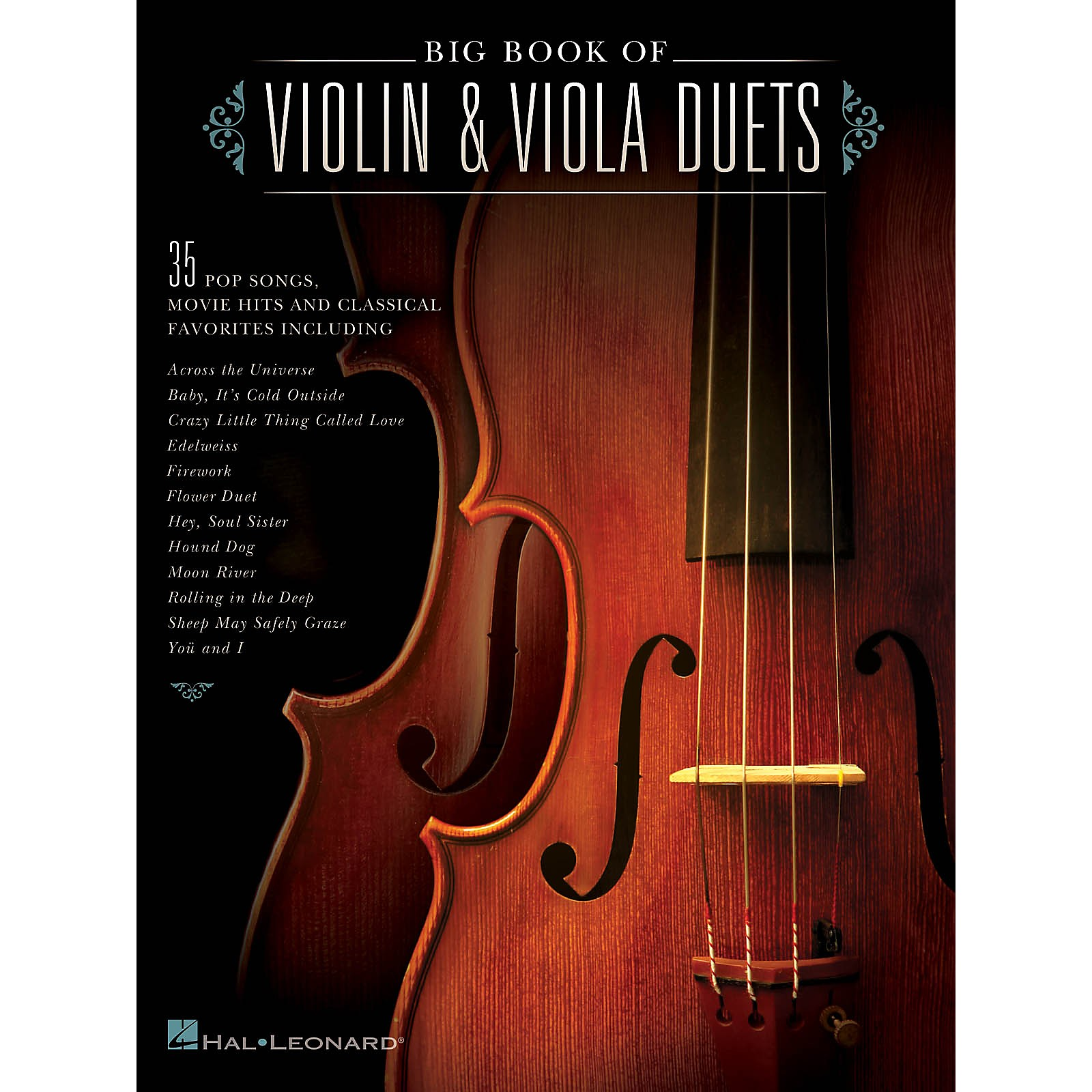 Hal Leonard Big Book of Violin & Viola Duets String Duet Series Softcover