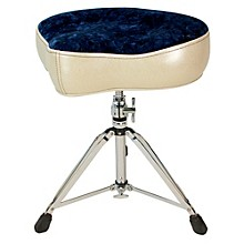 Big Boy Bicycle Throne Silver Sparkle with Navy Crush Top