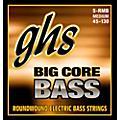 GHS Big Core 5-String Drop Tuning Bass Guitar Strings (45-130) thumbnail