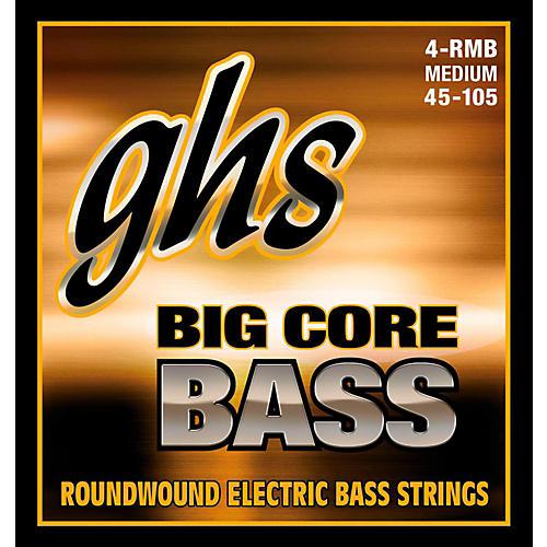 GHS Big Core Drop Tuning Bass Guitar Strings (45-105)