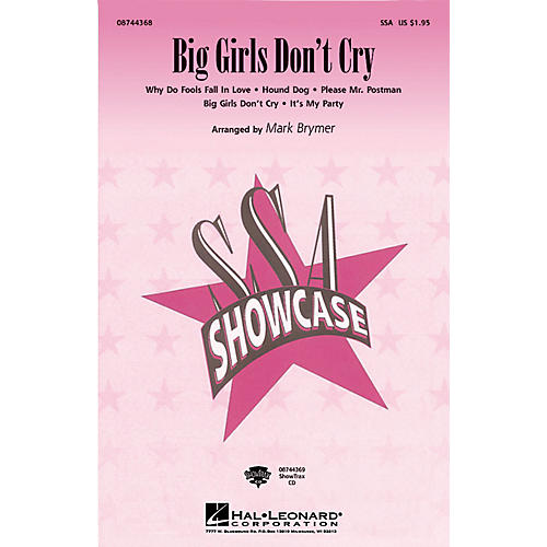 Hal Leonard Big Girls Don't Cry (Medley) ShowTrax CD