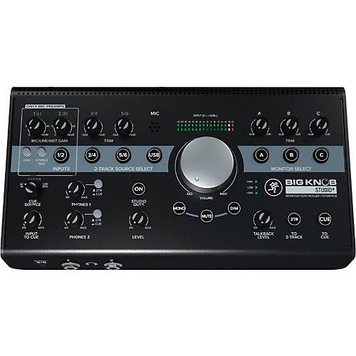 Mackie Big Knob Studio+ Monitor Controller Interface