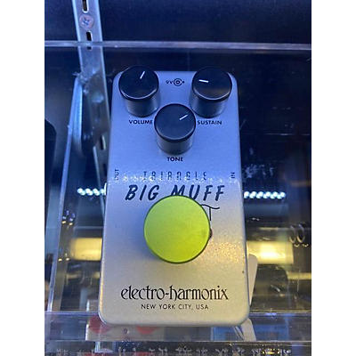 Electro-Harmonix Big Muff Triangle Pi Distortion Effect Pedal