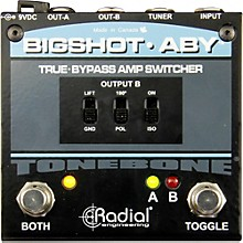 Open BoxRadial Engineering BigShot ABY True Bypass Switch Pedal