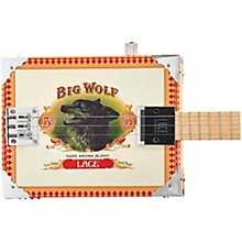 Big Wolf Acoustic-Electric Cigar Box Guitar 3 string