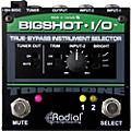 Radial Engineering BigShot i/o True Bypass Instrument Selector Pedal thumbnail