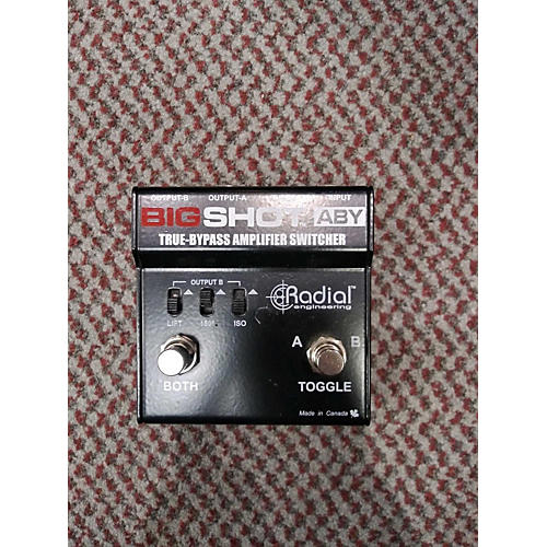 Bigshot ABY Pedal