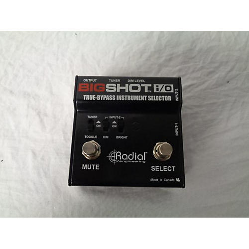 Bigshot I/O True Bypass Selector Pedal