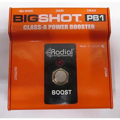 Radial Engineering Bigshot PB1 Power Booster Effect Pedal