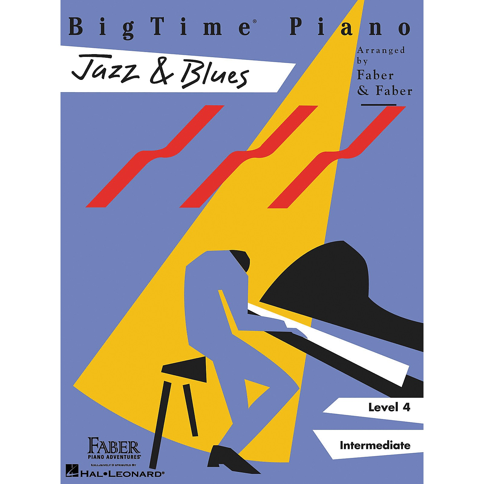 Faber Piano Adventures Bigtime Jazz & Blues L4