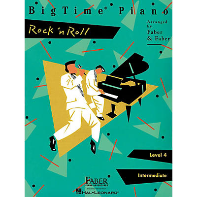 Faber Piano Adventures Bigtime Rock N Roll L4