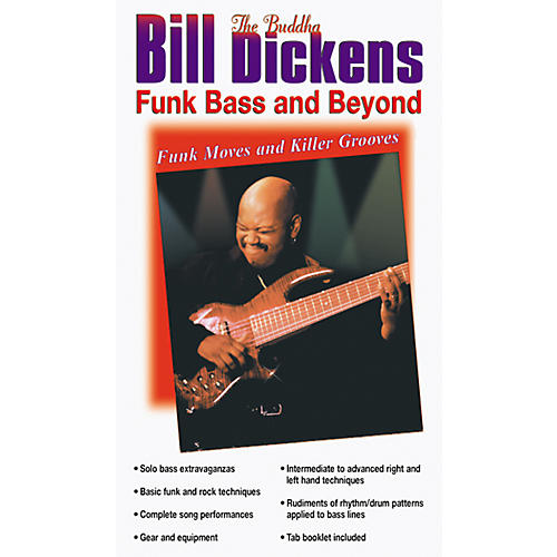 Alfred Bill Dickens Funk Bass and Beyond Video