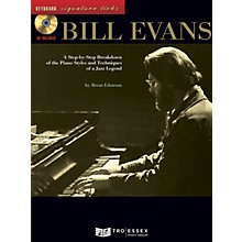 Hal Leonard Bill Evans Signature Licks Keyboard Series Softcover with CD Written by Brent Edstrom