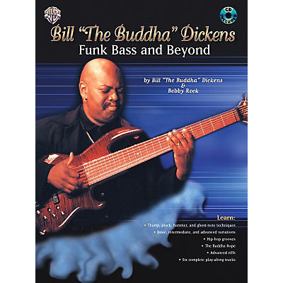 """Alfred Bill""""The Buddha"""" Dickens - Funk Bass and Beyond (Book/CD)"""