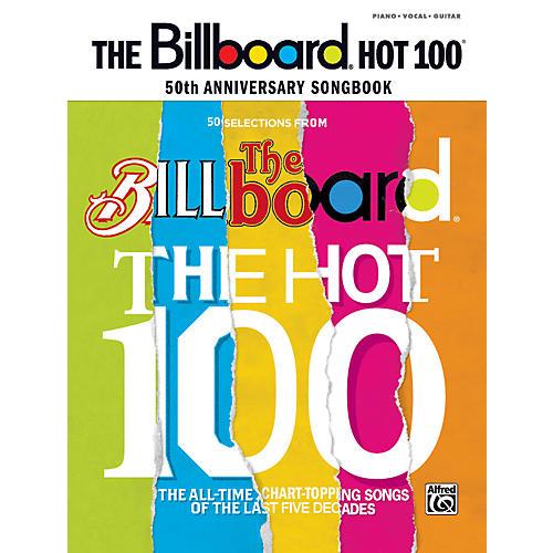 Alfred Billboard Magazine Hot 100 50th Anniversary Songbook PVC