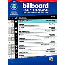 Alfred Billboard Top Tracks Instrumental Solos - Clarinet Book & CD Play-Along