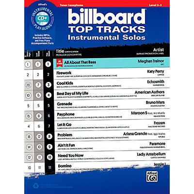 Alfred Billboard Top Tracks Instrumental Solos - Tenor Sax Book & CD Play-Along