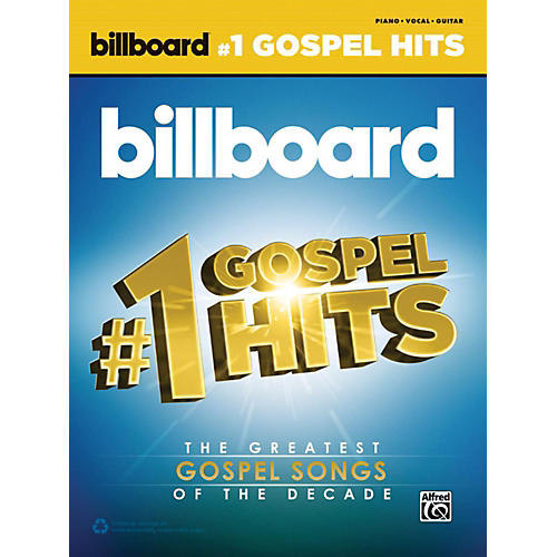 Alfred Billboard's #1 Gospel Hits Piano/Vocal/Guitar Songbook