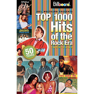 Record Research Billboard's Top 1000 Hits of the Rock Era - 1955-2005 Book Series Softcover Written by Joel Whitburn