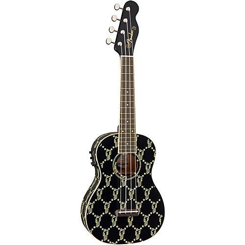 Fender Billie Eilish Signature Ukulele Black