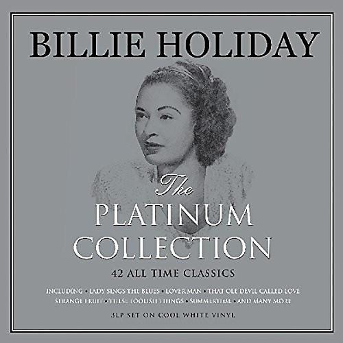 Alliance Billie Holiday - Platinum Collection (White Vinyl)