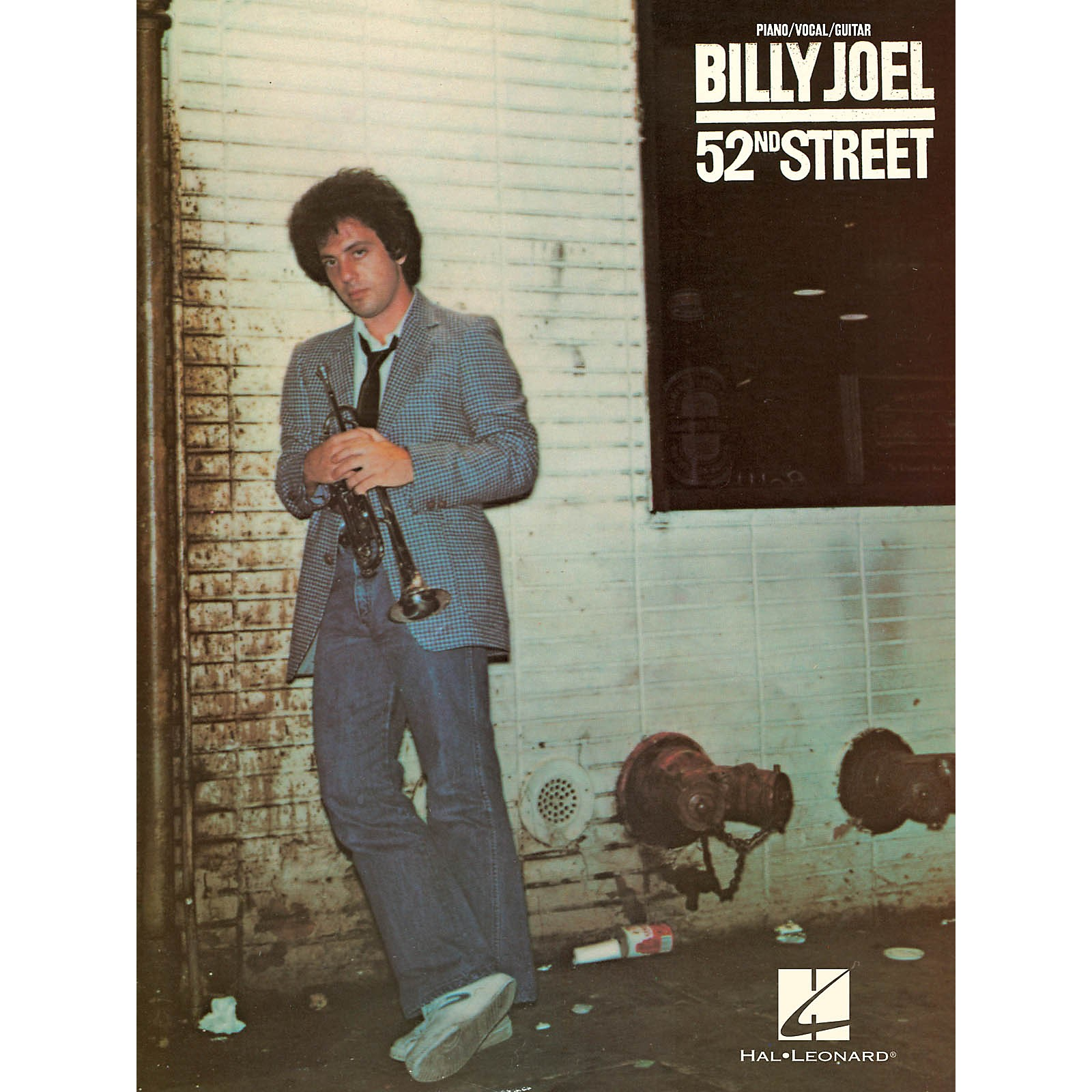 Hal Leonard Billy Joel - 52nd Street Piano/Vocal/Guitar Songbook