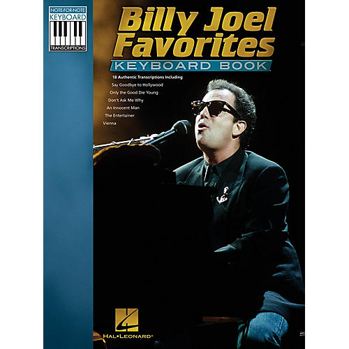 Hal Leonard Billy Joel Favorites Keyboard Book Keyboard Recorded Versions Series Softcover Performed by Billy Joel