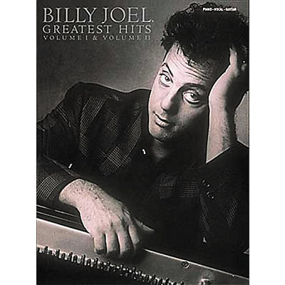 Hal Leonard Billy Joel  Greatest Hits Volume 1 & 2 Piano, Vocal, Guitar Songbook