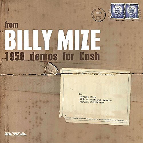 Alliance Billy Mize - 1958 Demos For Cash