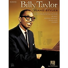 Hal Leonard Billy Taylor Piano Styles Keyboard Instruction Series Softcover Performed by Billy Taylor