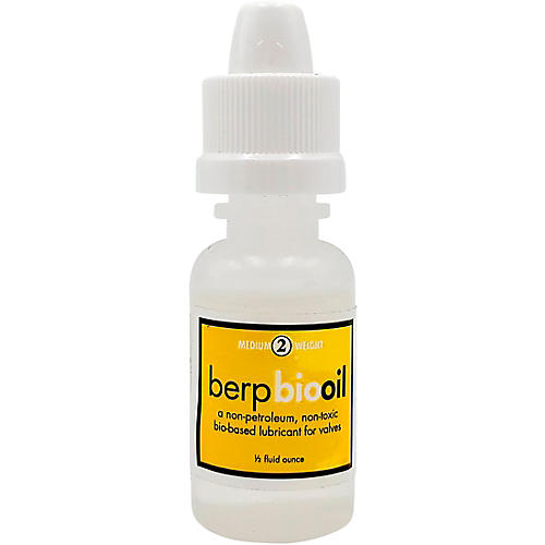 Berp Bio Piston Oil #2 Medium 0.5 oz.