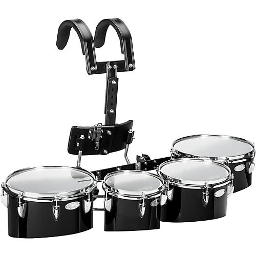 Sound Percussion Labs Birch Marching Quads with Carrier 8/10/12/13 White