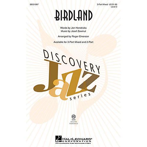 Hal Leonard Birdland VoiceTrax CD Arranged by Roger Emerson