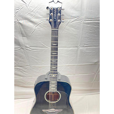 Keith Urban Black Acoustic Guitar