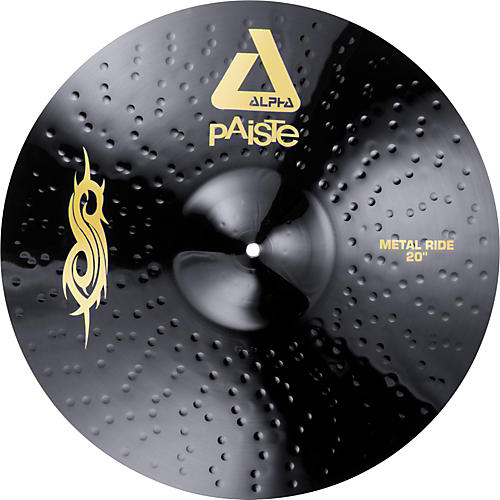 Paiste Black Alpha Slipknot Edition Metal Ride Cymbal