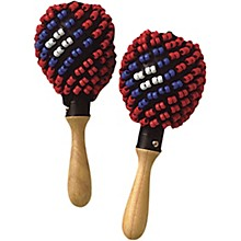 Tycoon Percussion Black Beaded Maracas