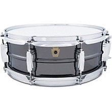Open BoxLudwig Black Beauty 8-Lug Brass Snare Drum