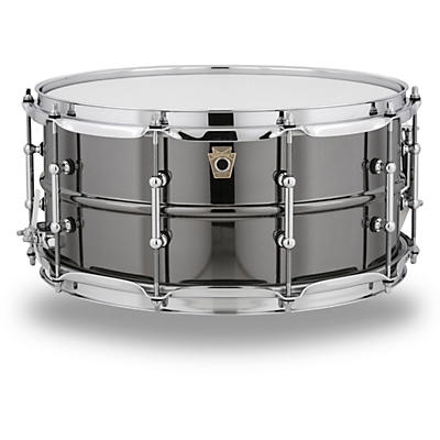 Ludwig Black Beauty Snare Drum with Tube Lugs