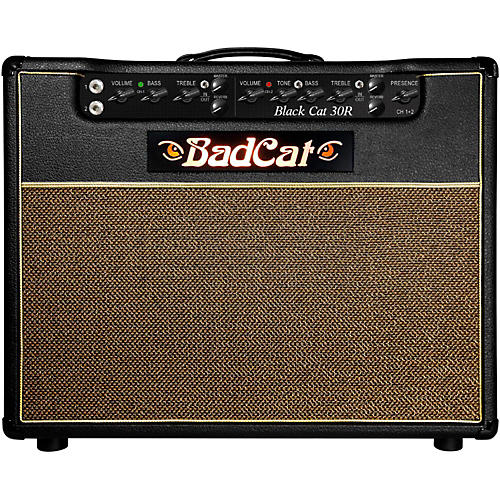 Bad Cat Black Cat R 30W 1x12 Tube Guitar Combo Amp
