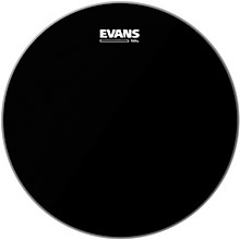 Black Chrome Tom Batter Drumhead 8 in.