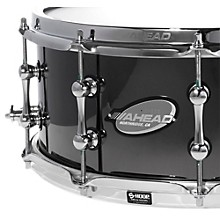 Ahead Black Chrome on Bell Brass Snare