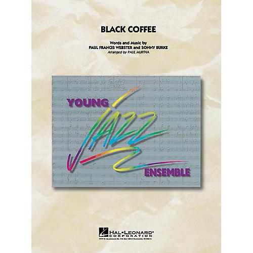 Hal Leonard Black Coffee Jazz Band Level 3 Arranged by Paul Murtha