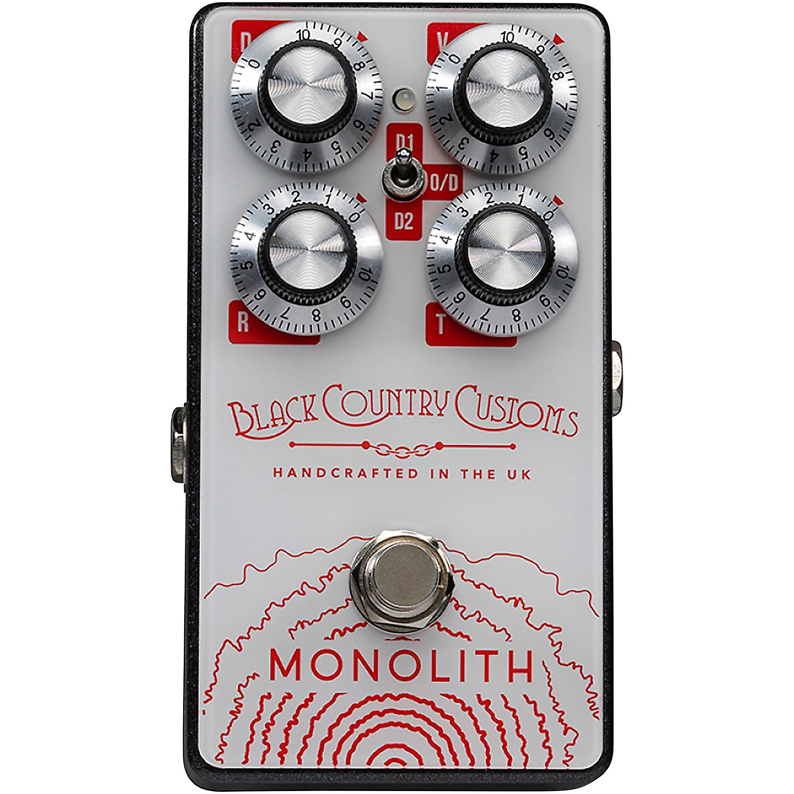 Laney Black Country Customs Monolith Distortion Effects Pedal
